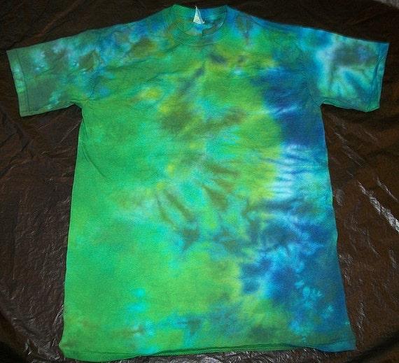 Tie Dye Cotton T-Shirt ADULT MEDIUM