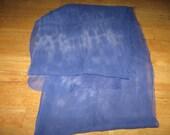 """90"""" Silk Chiffon hand-dyed PURPLE Scarf ready to Nuno Felting"""