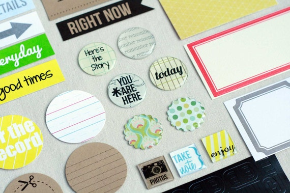 Embellishment Pack - Art Journal, Mini Albums, Scrapbook