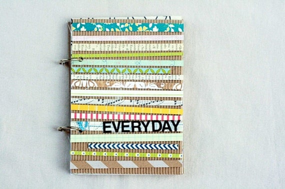 Everyday - Mixed Paper Art Journal