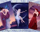 Fairy & Fantasy Art Greeting Cards - Your Choice of 3