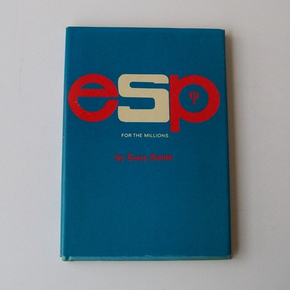 1960s ESP book / 60s how to book / ESP for the Millions Hardcover Book