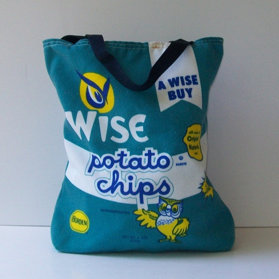 Vintage JUNK FOOD Kitsch Tote Bag