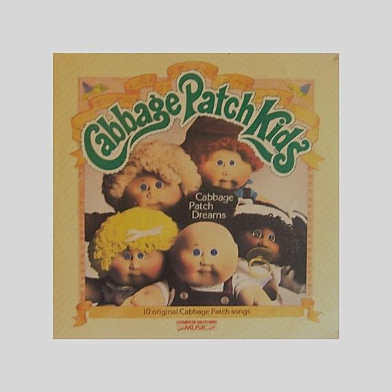 Vintage 80s CABBAGE PATCH KIDS Vinyl Record