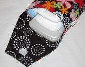 Diaperdoo Diaper Pouch (Classy Flowers)