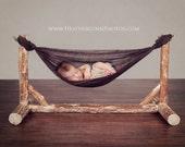 Custom Wooden Hammock Newborn Photography Prop