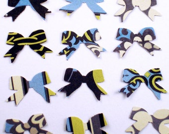 Confetti  Bows Die Cut Bows in  Faded China