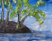 Kalzi, 8x10 impasto impressionism painting by Megan Savasky