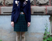 Indie VIntage Blazer with Badges