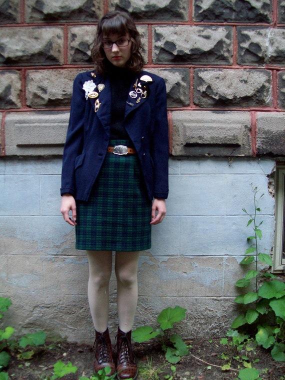 Indie VIntage Blazer with Badges