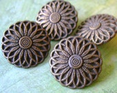 Flower Buttons 4 Pack