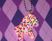 Super Sprinkles Circus Cookie Necklace - Lion