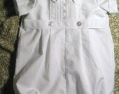 All White boy's  blessing/christening/baptism outfit