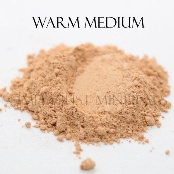 SALE Warm Medium Mineral Foundation / Vegan
