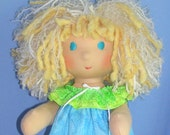 14 inch All Natural Waldorf Inspired Customized Doll