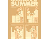 Movie poster (500) Days of Summer 6x4 inches SMALL print