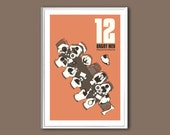 Movie poster 12 Angry Men 12x18 inches retro print