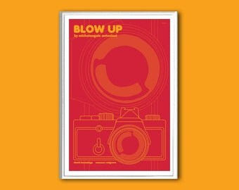 Blow Up Antonioni movie poster in various sizes