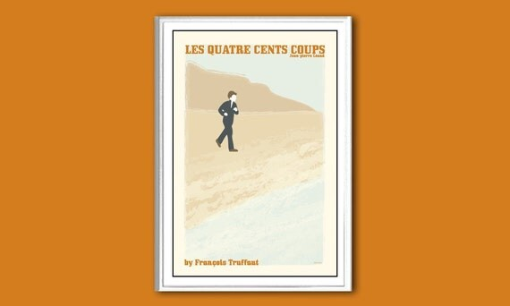 Les quatre cents coups, or The Four Hundred Blows, 12x18 inches movie poster