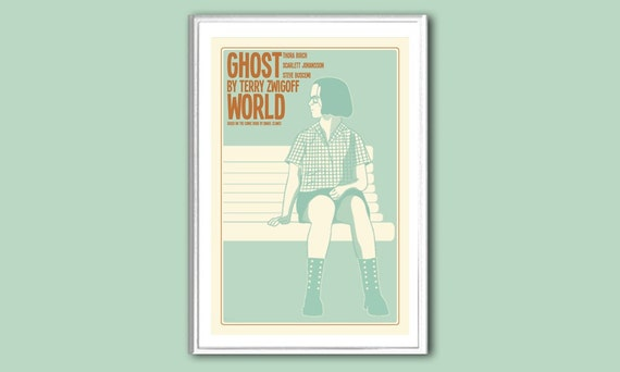 Ghost World 8x12 inches poster