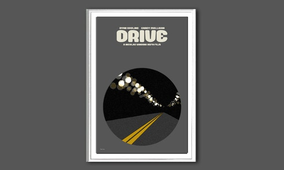 Movie poster Drive 12x18 inches print