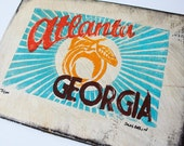 Atlanta Print on Panel