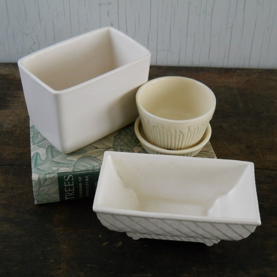 Flower Pot Planter Instant Ivory Collection No.2