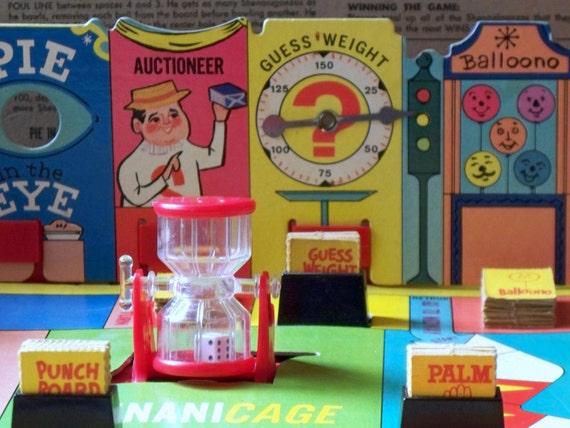 1966 Vintage Shenanigans Board Game By Lisabretrostyle2 On