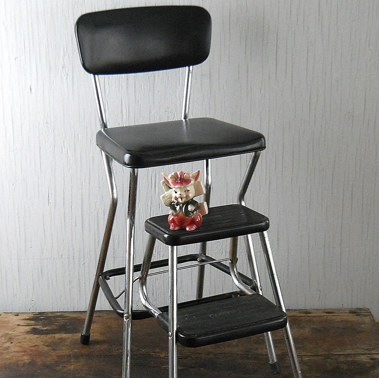 Vintage Cosco Step Stool Chair By Lisabretrostyle2 On Etsy