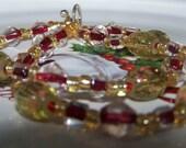 Golden Red Bracelet