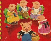 This Little Piggy Went to Market - Vintage Baby Sturdi-Board Book