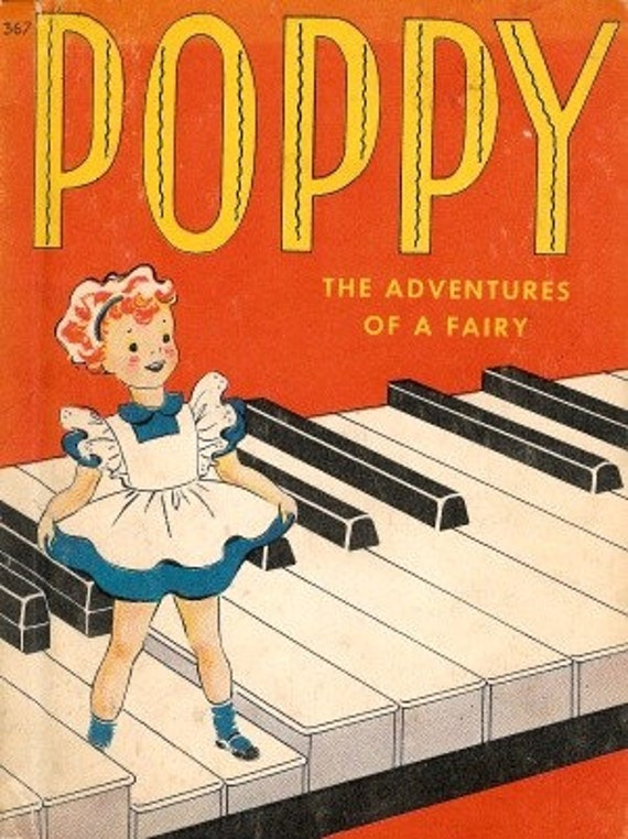 SALE Poppy - The Adventures of a Fairy - Anne Perez-Guerra - Betty Barclay 1942
