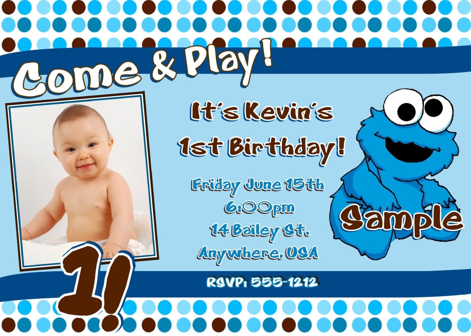 Monster Birthday Party Invitations for perfect invitations example