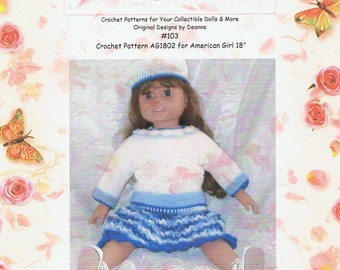 American Girl  Crochet Pattern 103