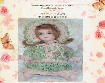 Bleuette Crochet Pattern 137