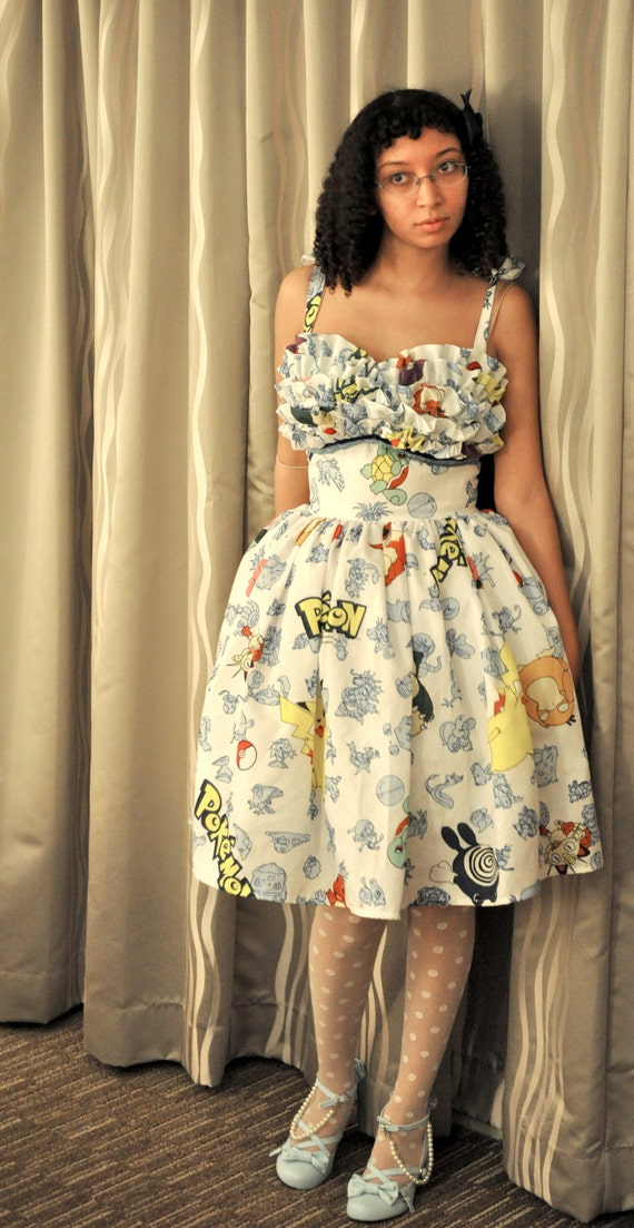 Pokemon Prom Dress
