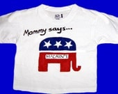 Political Toddler T-Shirt - Hand Painted