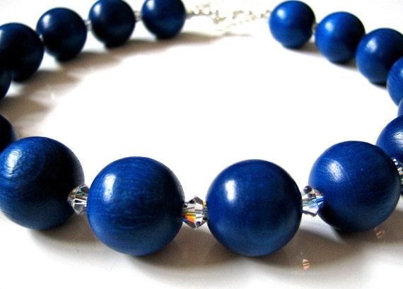 Sparkling Blueberry Necklace