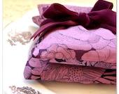 Liberty of London Lavender Sachets: Plum Roses and Velvet