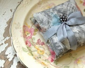 Liberty of London Lavender Sachets --Pastel Feathers