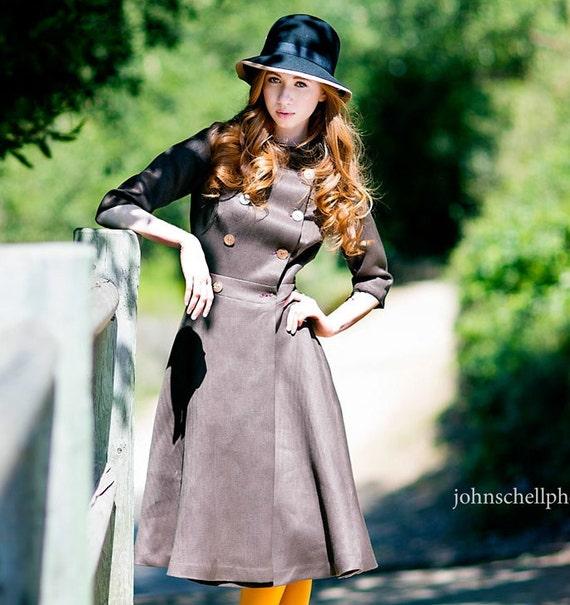 The English Coat Dress