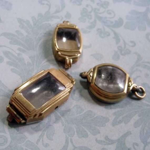 Three Vintage Watch Cases (WC775)