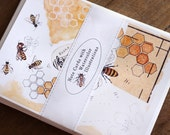 Honey Bee Notes - Digital - Printable PDF