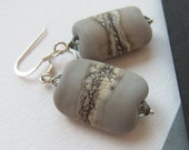 Grey Clouds Earrings