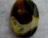 Yellow Agate Pendant