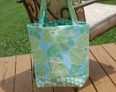 6 pocket tote- Amy Butler Fabric-RESERVED for TwoAngels