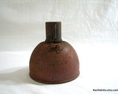 Land Mine Shell WWII, Vintage Metal Weapon