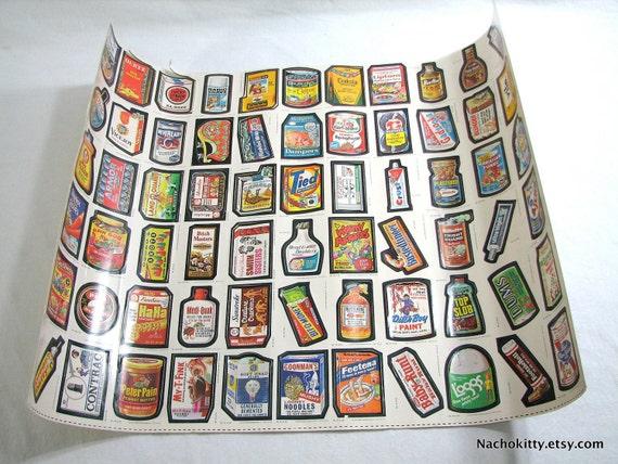 1970s Topps Wacky Packages Sticker Poster Gadzooka