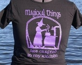 LAST ONE-Medium- Magickal things are crafted....T shirt