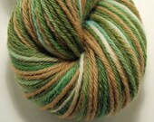 Hand-Dyed Worsted Yarn Peruvian Highland Wool- Camo RESERVED FOR STEPHANIEWALKER11